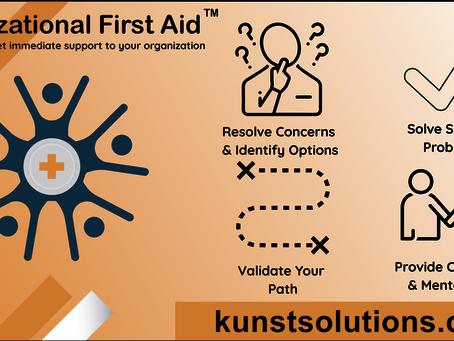 Organizational First Aid, Coaching     Top Skills Companies Seek from their Coaches.