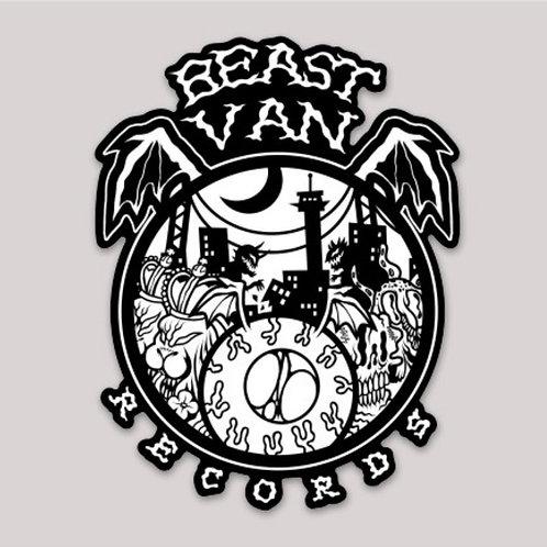 Beast Van Sticker 4 Pack (NEW)