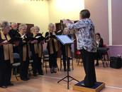 Ann conducting