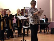 Ann and choir