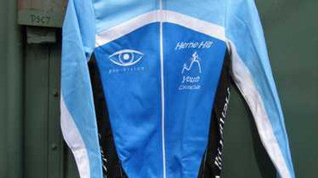 Long sleeve jersey winter active with zipper