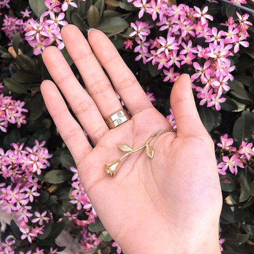 """""""La Vie En Rose"""" Charm Necklace"""