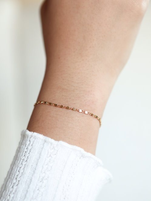 Dainty Bar Bracelet