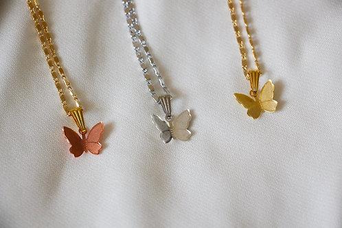 """""""Lovebug"""" Butterfly Necklace"""