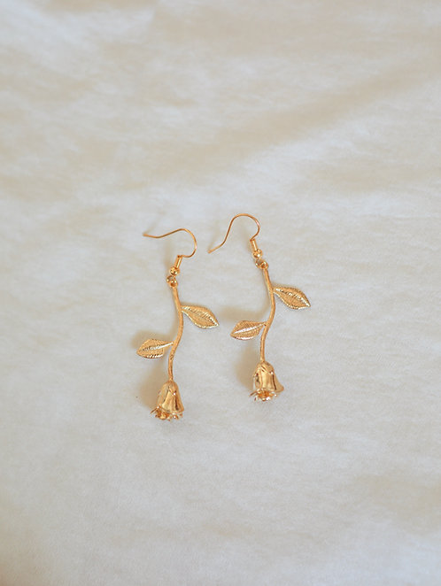 """La Vie En Rose"" Dangle Earrings"