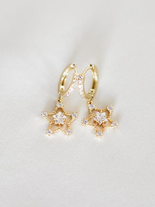 """""""Twinkle"""" Crystal Star Huggies"""