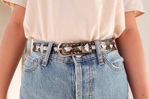 Iridescent Butterfly Jelly Belt