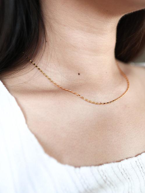 Dainty Bar Chain Necklace