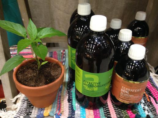EM-active ja Terrafert Soil