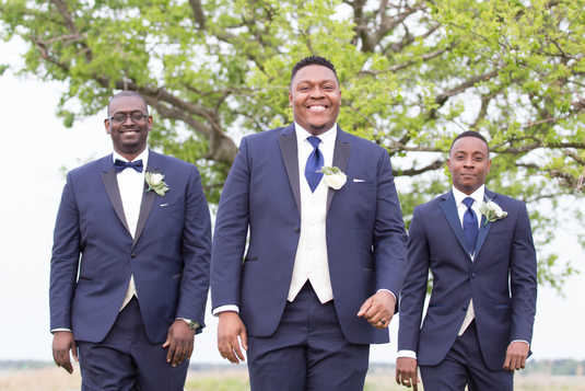 a groom & his men