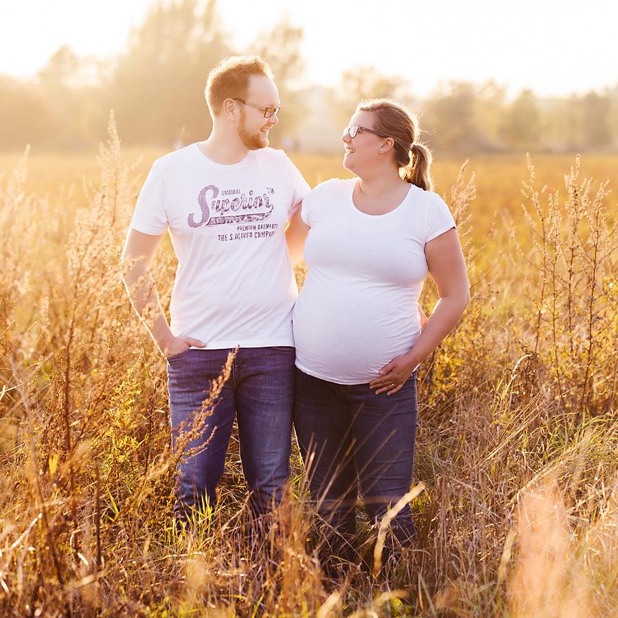 Babybauchshooting Lena und Niklas