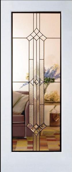 stained door w