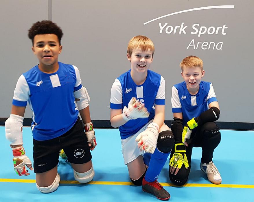 York Futsal kids GKs
