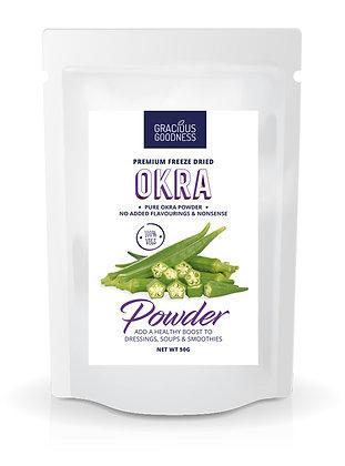Freeze Dried Okra Powder