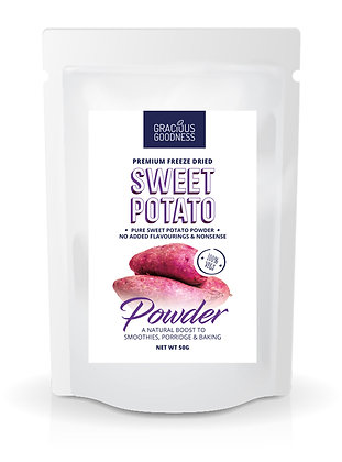 Freeze Dried Sweet Potato Powder