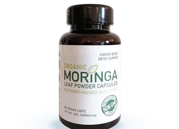 Organic Moringa Leaf Capsules