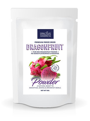 Freeze Dried Dragonfruit Powder