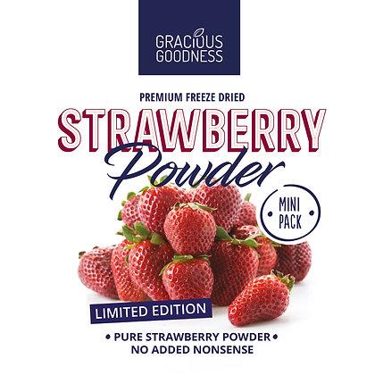 Freeze dried Strawberry Powder Mini Pack
