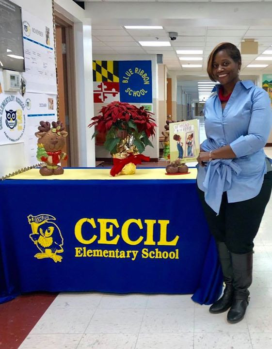 Cecil Elementary Visit