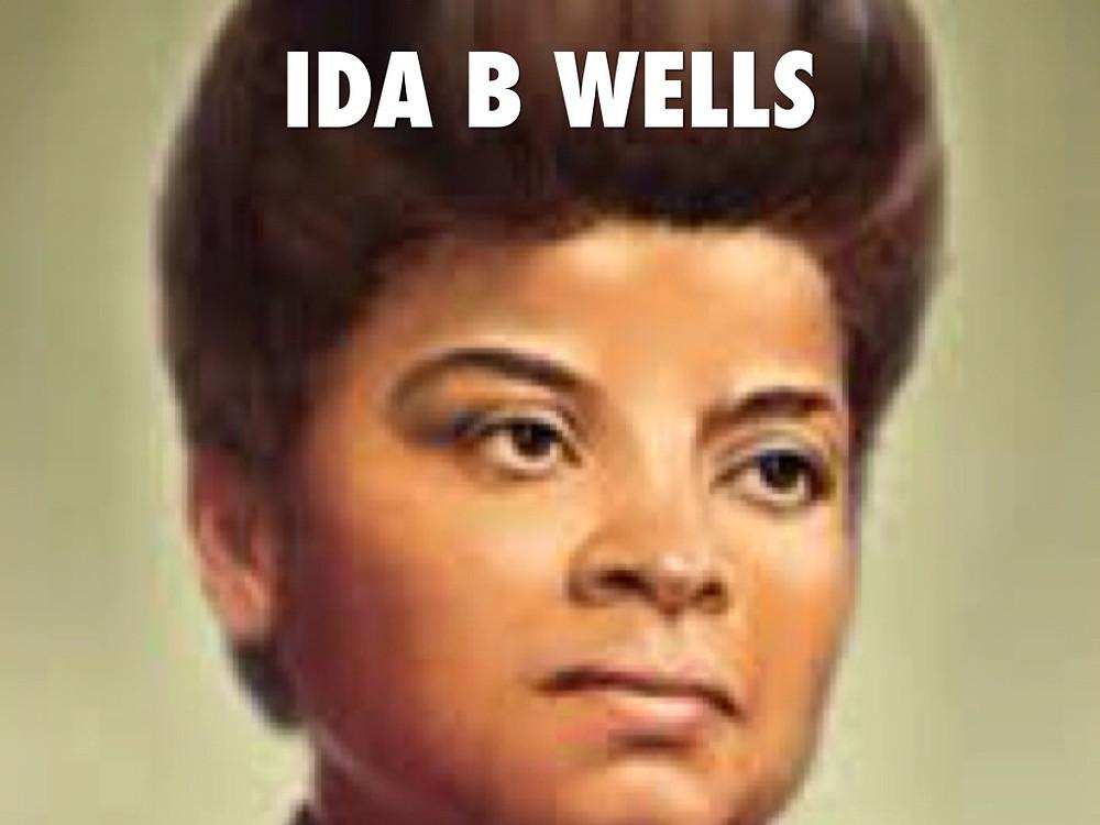 IDA B WELLS, WRITER