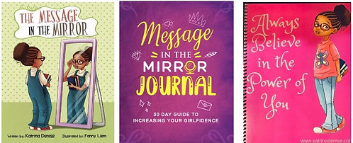 Girl Power Package (Picture Book, Notebook, 30 Day Journal)