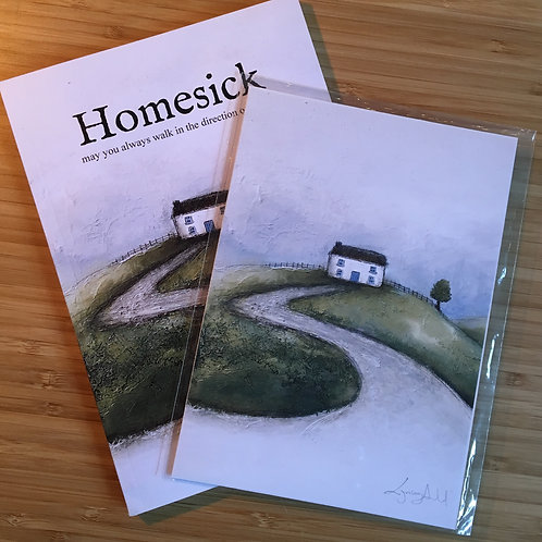 Gift Package - Homesick Book and Print (5x7)