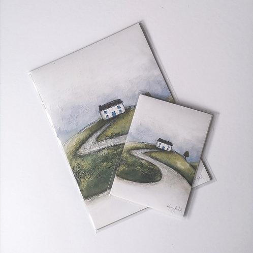 Homesick Art Print 5x7