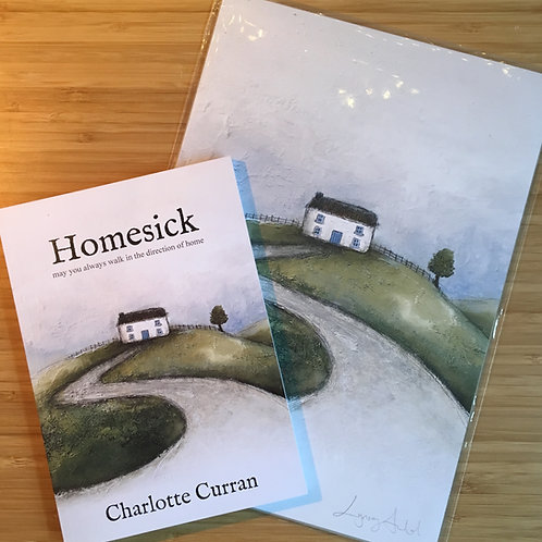 Gift Package - Homesick Book and A4 print