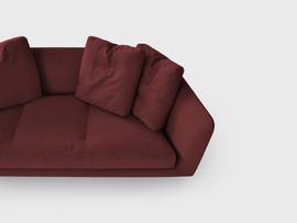 Sofa Aura von Bensen