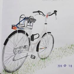 My bike #watercolor.jpg