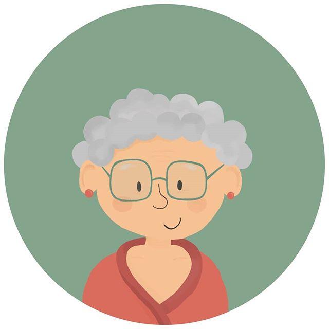 Voici Odette avec des lunettes. #myfirst