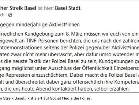Das Arbeitsverständnis der Basler Polizei ..