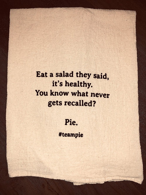 "Sassy Towel ""#teampie"""