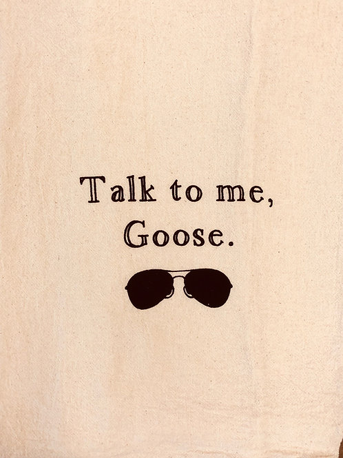 "Sassy Towel ""goose"""