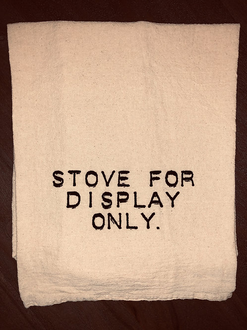 "Sassy Towel ""display only"""