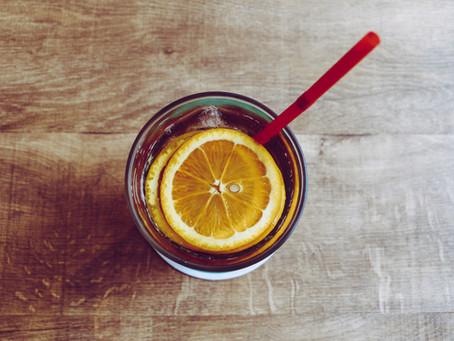 Weekend Citrus Hibiscus Iced Tea