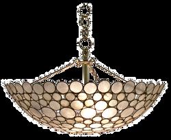 serena bowl chandelier