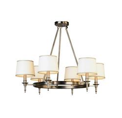 Winston 6 light chandelier D2149