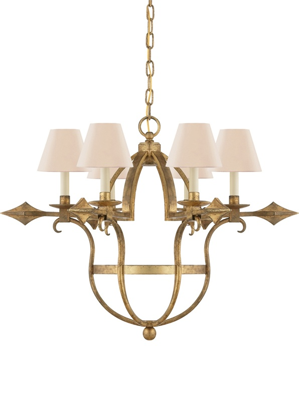 Preston Chandelier LRL 5005-GI
