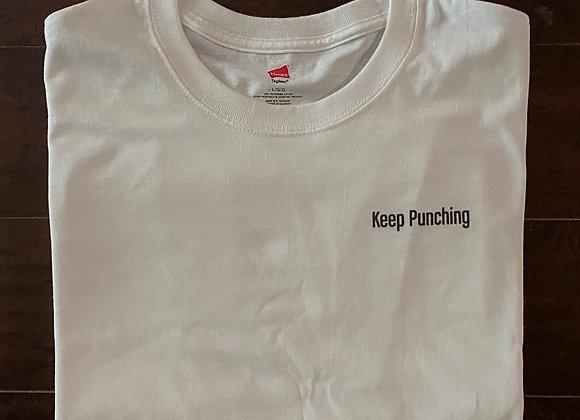 Keep Punching White T-Shirt