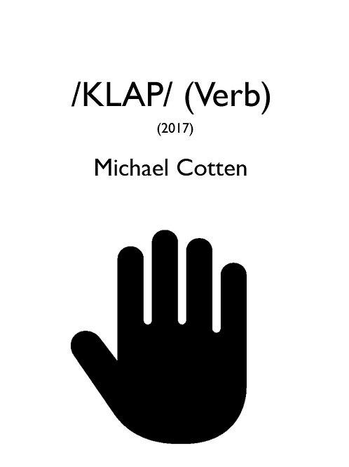 /Klap/ (verb)