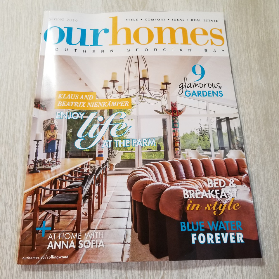 Our Homes spring 2019