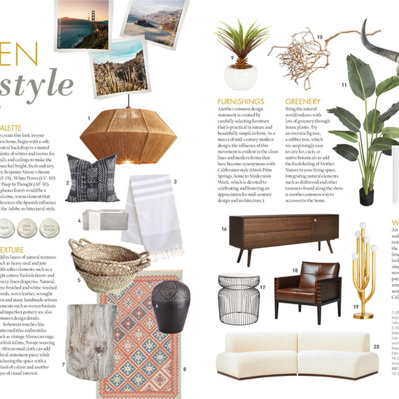 Our Homes summer 2018 style pics