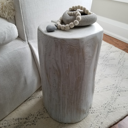 """""""Calm"""" Collection stump side table"""