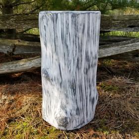 Stump side table/seat