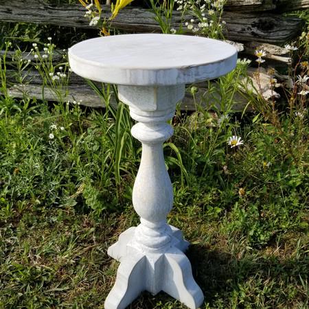 Refurbished porch spindle table revised