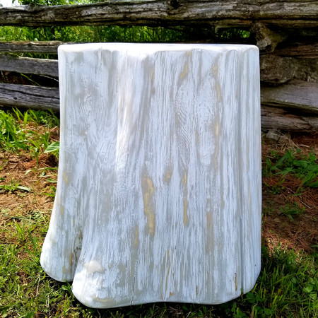 """""""Calm"""" collection elephant foot stump side table/sto"""