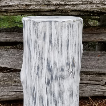 """""""Serene"""" Collection stump side table"""