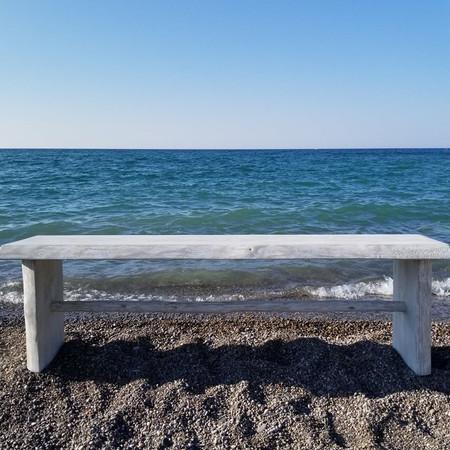 Live edge 5' bench