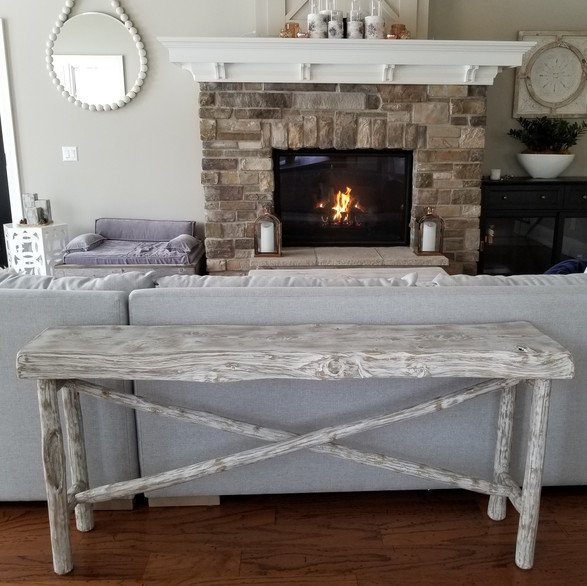 """Tranquil"" Collection-sofa table"
